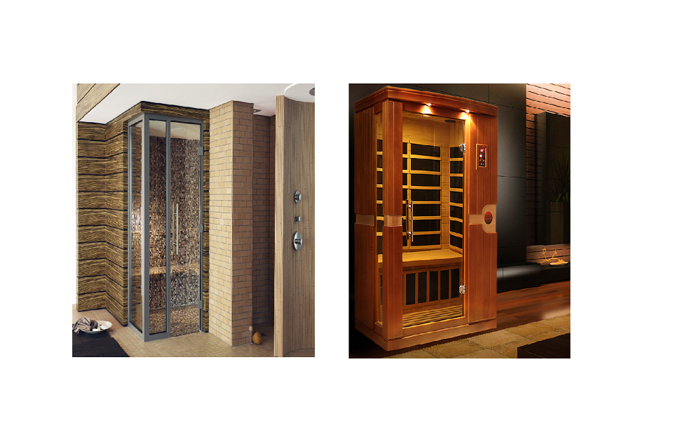 Steam Room or Infrared Sauna – Which is the Best Choice for Your Home Picture