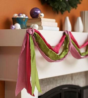 How to use ribbons to decorate your house Picture