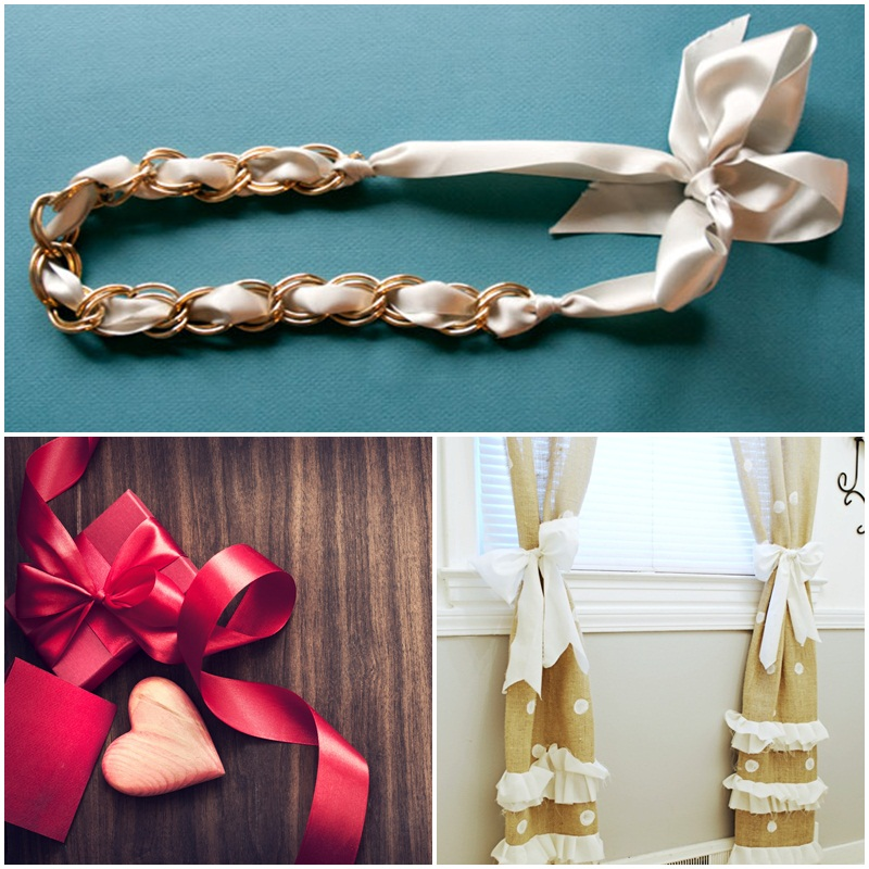 Ribbons - everything you need in terms of decorations