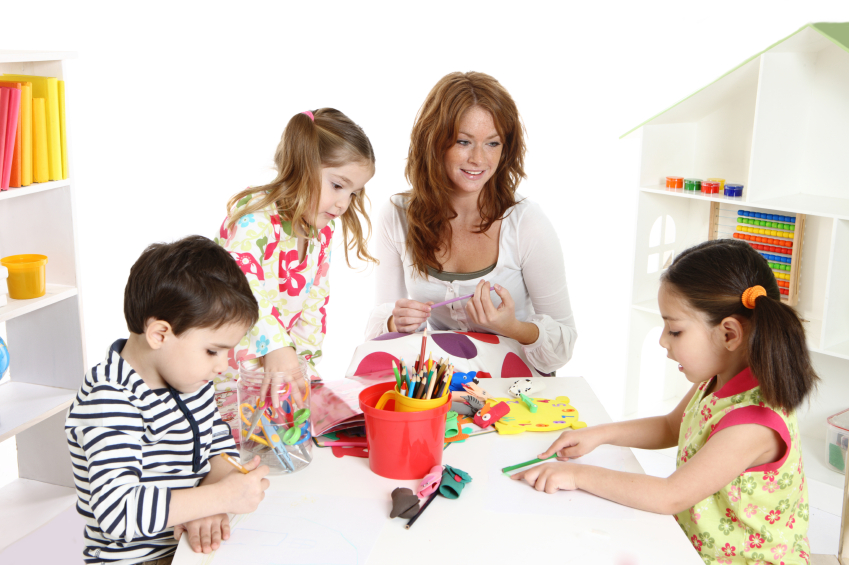 The essentials of crafts with kids Picture